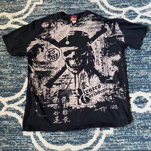 2007 Pirates Of The Caribbean T Shirt Sz 3xl EUC
